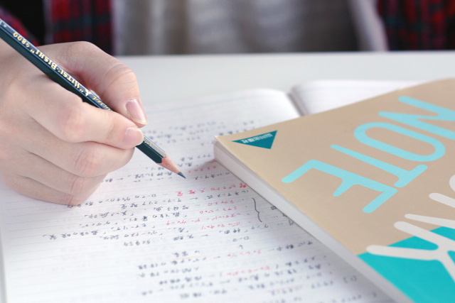 中学生の受験勉強
